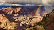 Rainbow at the Grand Canyon  T7